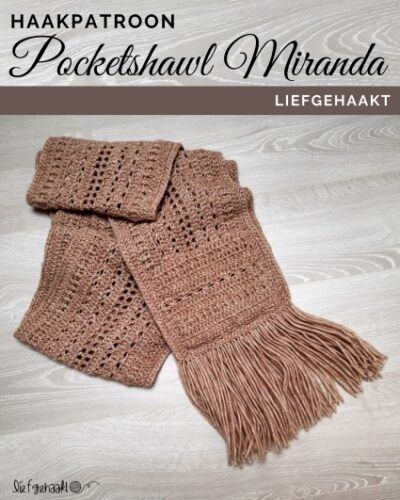 Haakpatroon Pocketshawl Miranda