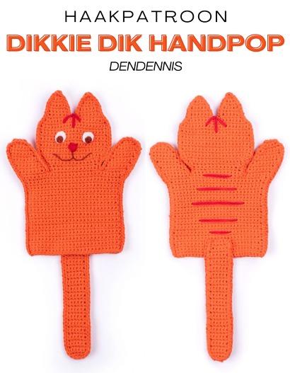 Haakpatroon Dikkie Dik Handpop
