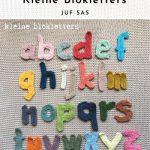 Haakpatroon Kleine Blokletters Alfabet
