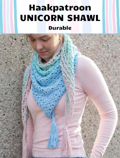 Haakpatroon Unicorn Shawl