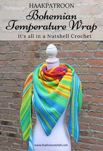 Haakpatroon Bohemian Temperature Wrap
