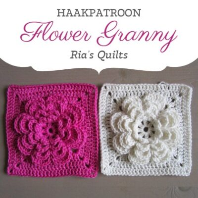 Haakpatroon Flower Granny