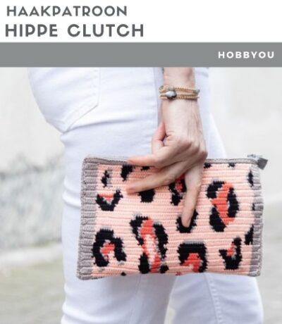 Haakpatroon Hippe Clutch