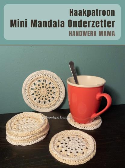Haakpatroon Mini Mandala Onderzetter