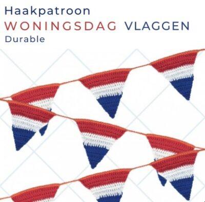 Haakpatroon Woningsdag Vlaggen
