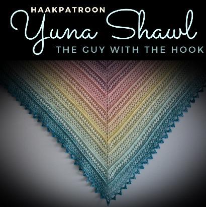 Haakpatroon Yuna Shawl