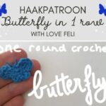 Haakpatroon Butterfly