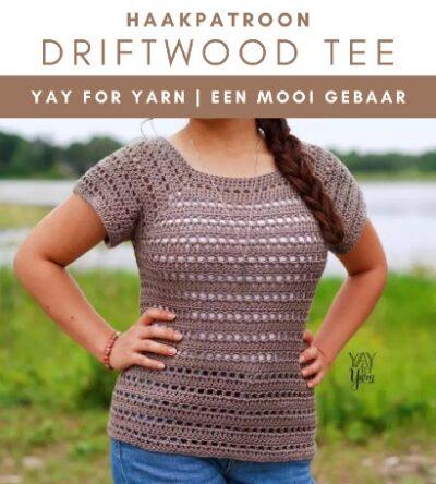 Haakpatroon Driftwood Tee