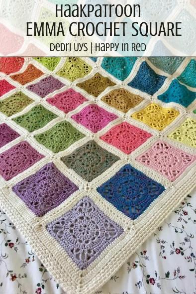 Haakpatroon Emma Crochet Square