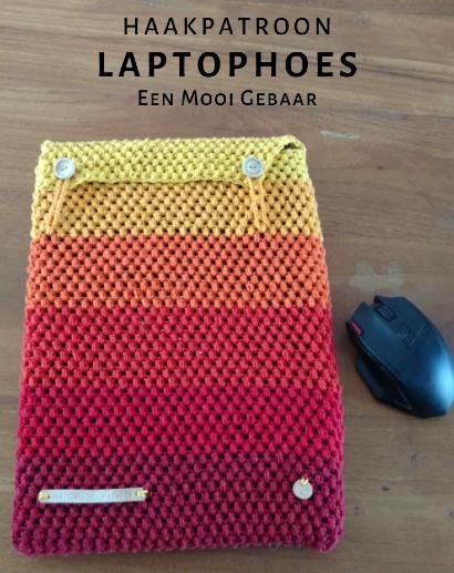 Haakpatroon Laptophoes
