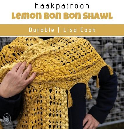 Haakpatroon Lemon Bon Bon Shawl