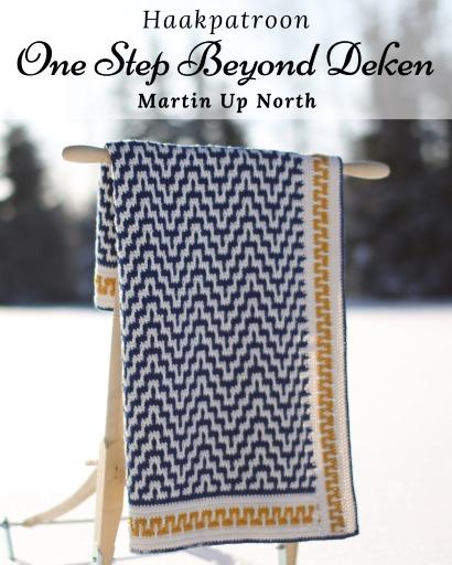 Haakpatroon One Step Beyond Deken