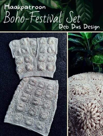 Haakpatroon Boho-Festival Set
