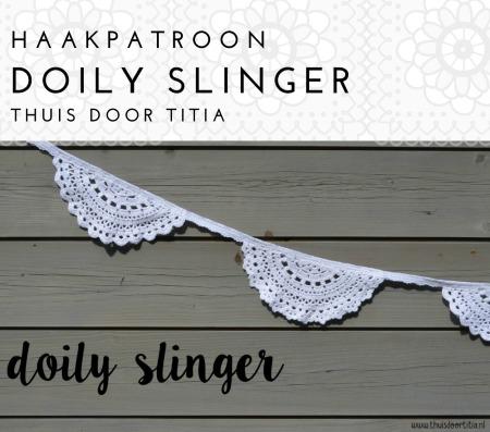 Haakpatroon Doily Slinger