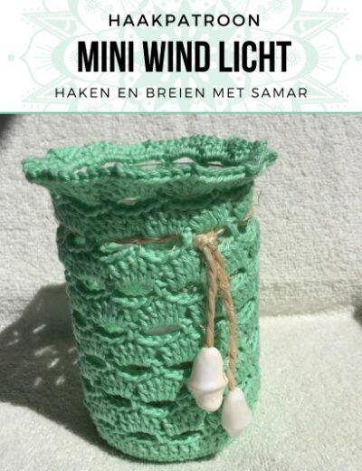 Haakpatroon Mini Wind Licht