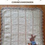 Haakpatroon Babydekentje Pieter Konijn
