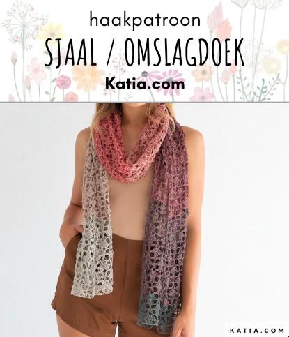 Haakpatroon Sjaal of Omslagdoek
