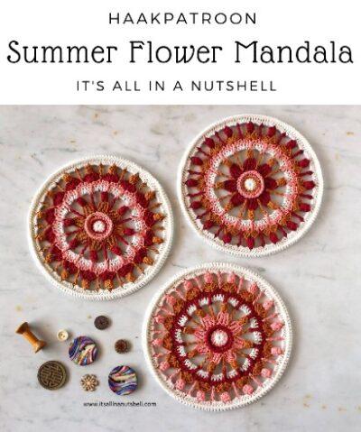 Haakpatroon Summer Flower Mandala