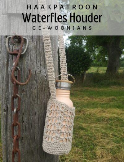 Haakpatroon Waterfles Houder