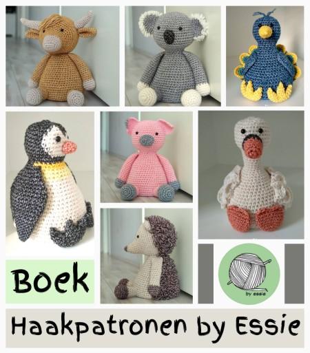 Boek Haakpatronen by Essie sfeer impressie