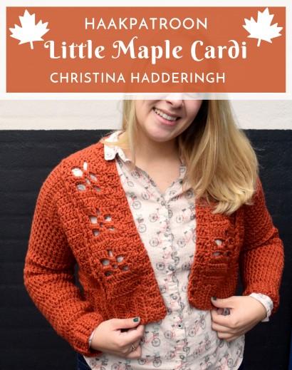 Haakpatroon Little Maple Cardi