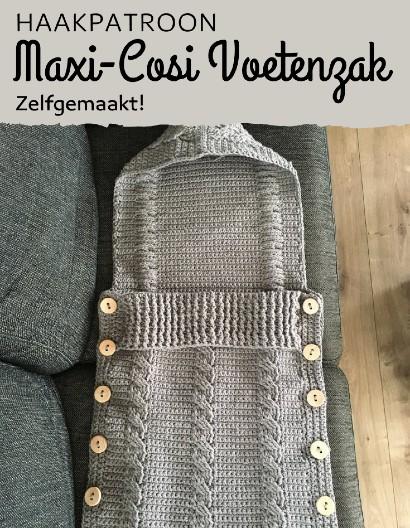 Haakpatroon Maxi-Cosi Voetenzak