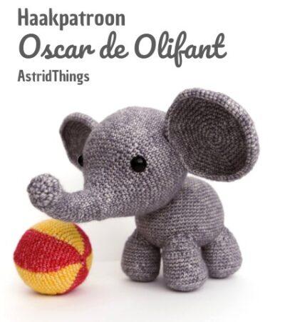 Haakpatroon Oscar de Olifant