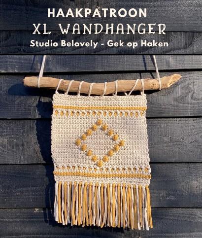 Haakpatroon XL Wandhanger