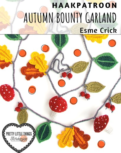 Haakpatroon Autumn Bounty Garland