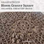 Haakpatroon Bloem Granny Square
