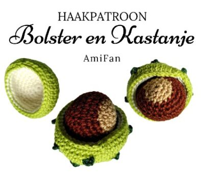 Haakpatroon Bolster en Kastanje