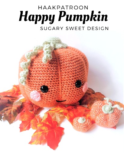 Haakpatroon Happy Pumpkin