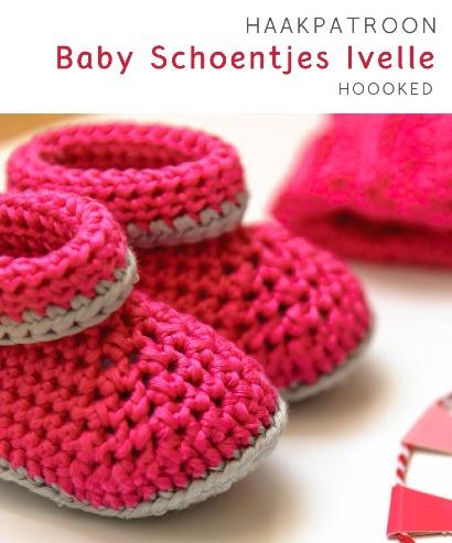 Haakpatroon Baby Schoentjes Ivelle