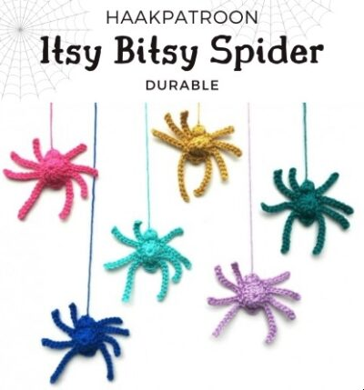 Haakpatroon Itsy Bitsy Spider