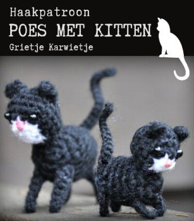 Haakpatroon Poes met Kitten