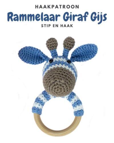 Haakpatroon Rammelaar Giraf Gijs