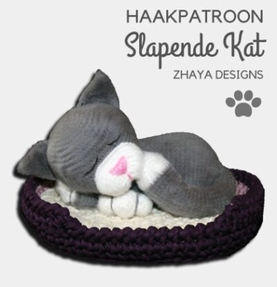 Haakpatroon Slapende Kat