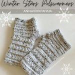 Haakpatroon Winter Stars Polswarmers