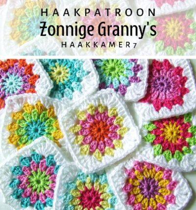 Haakpatroon Zonnige Granny's